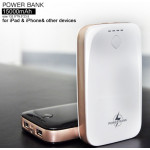 Powerbank 15000mAh WhiteBeige